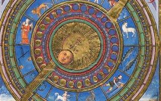 Medieval Medicine Astrological Chart