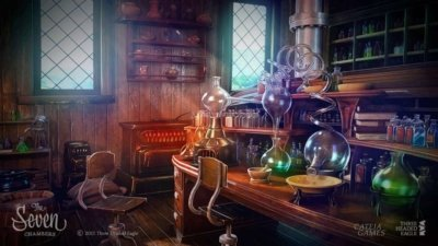 The Seven Chambers Alchemy Lab